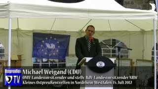 Weigand (CDU): Ostpreußen zeigt: Europa wird es auch nach dem Euro geben!