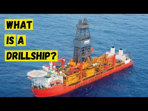 what is a drillship?  a tour of the drillship where i worked!