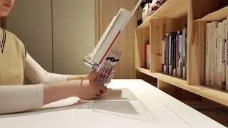[리딩독서대] 높이각도조절 아크릴 투명 독서대 조립법