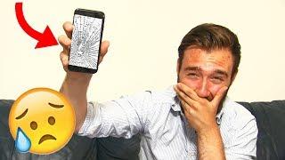 J'AI CASSÉ MON IPHONE 7 & ACCIDENT à cause DU SLIME !!