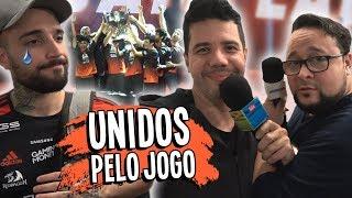 AZAR NO JOGO, SORTE NO AMOR - Final CBLOL 2018 | Porto Alegre - RS