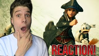 KINGDOM HEARTS 3 - TOGETHER TRAILER REACTION!