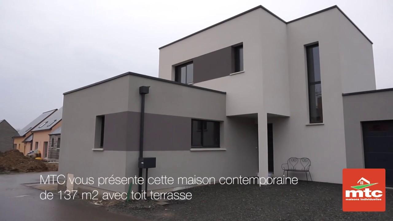 Visite maison contemporaine dans le 49 constructeur de maisons mtc youtube for Constructeur maison 49