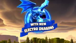 YouTube Meet The Electro Dragon! (Clash of Clans Town Hall 12 Update)