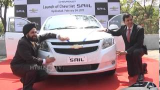 Chevrolet Sail Sedan launch