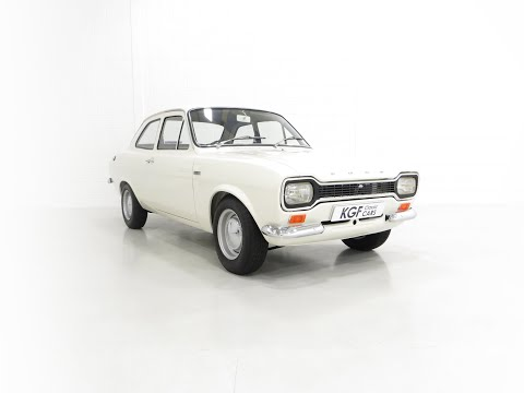 An Early Mk1 Ford Escort Twin Cam in Perfect Condition and AVO Club Registered - £65,995