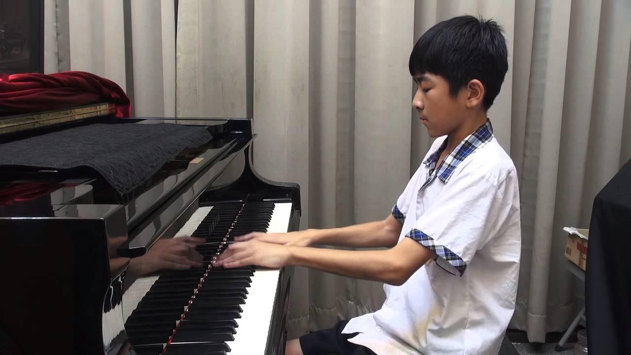 賴續東(11)彰化縣社頭國中(練習篇7) 2014/10/1 Beethoven Moonlight Sonata 3rd Mov (貝多芬「月光」奏鳴曲第3樂章) - YouTube