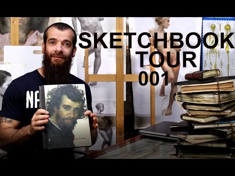 Sketchbook Tour 001. Cesar Santos