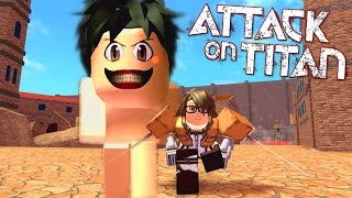 Repeat youtube video ROBLOX LET'S PLAY ATTACK ON TITAN | RADIOJH GAMES