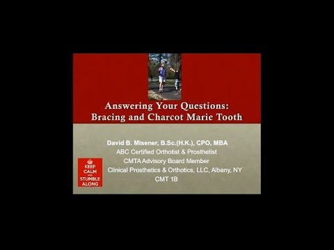 Answering Your Questions: Bracing and CMT