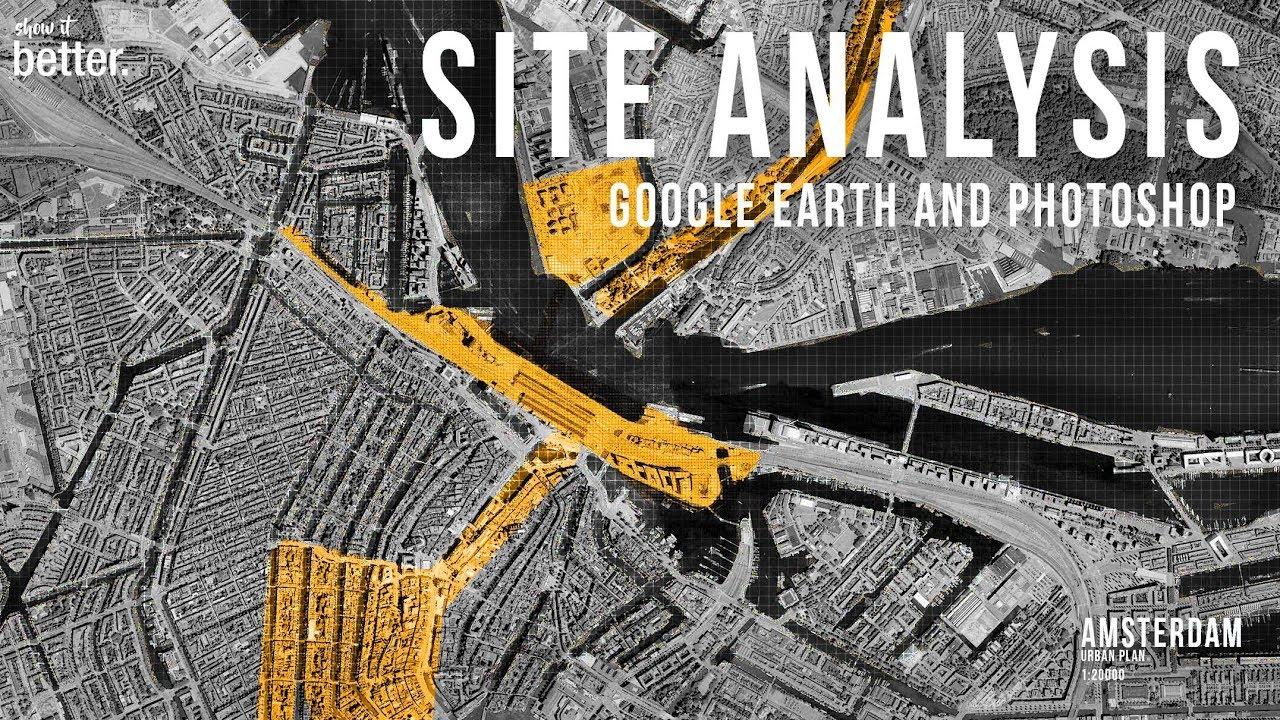 Urban Site Analysis Tutorial Youtube