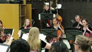 Wenatchee HS Chamber Orchestra Brandenburg Concerto #3