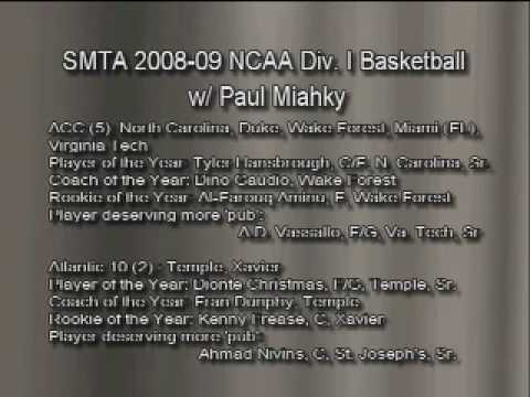 So Much to Talk About: 2008-09 NCAA Basketball Preview-Pt. 2 of 9
