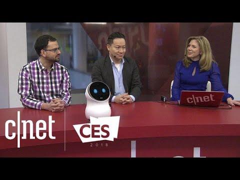 At CES 2018, cute robots, smart hearing aids and KodakCoin