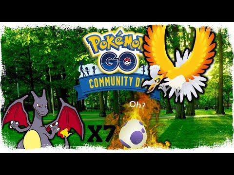 POKEMON GO COMMUNITY DAY EVENT! - HO-OH TULI TAKAS + 7X 10KM MUNIA!