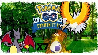 POKEMON GO COMMUNITY DAY EVENT! - HO-OH TULI TAKAS + 7X 10KM MUNIA!