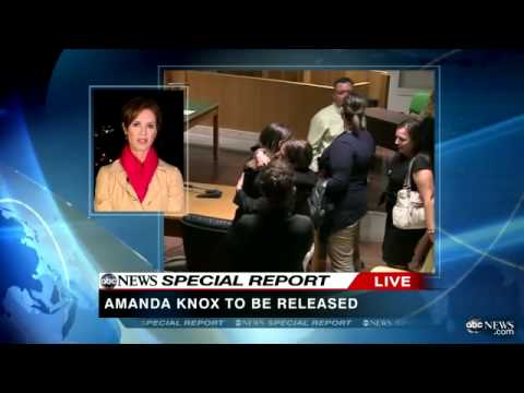 Amanda Knox Acquitted, Innocent and Set Free