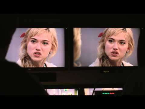 Imogen Poots   A Long Way Down 2014 fun & crazy moments