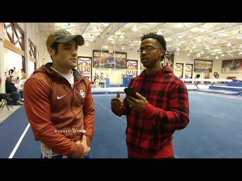 Levi Anderson Interview | Oklahoma Men's Gymnastics