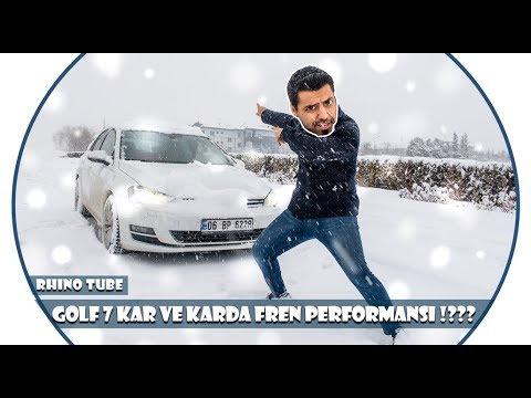 VOLKSWAGEN GOLF (7) SNOW TEST!