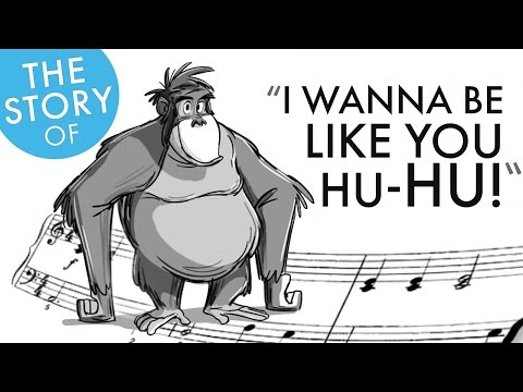 The Story of Recording I Wanna Be Like You from The Jungle Book