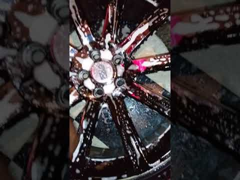 Eagle one chrome cleaner messes up rims after applyingfor 2nd time to prove it