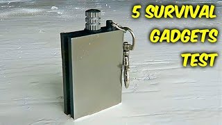 5 Cool Survival Gadgets You Should Know About!