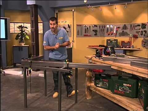 Construye tu propia Mesa para el jardín, con hierro y madera