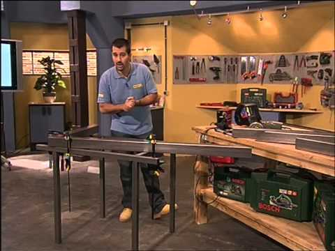 Construye tu propia mesa para el jard n con hierro y for Mesas para jardin