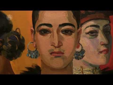 Выставка Мариам Асламазян: Истории солнечных цветов