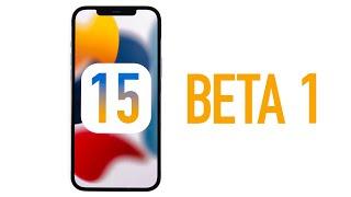 iOS 15 Beta 1 - Wąs ist neu?