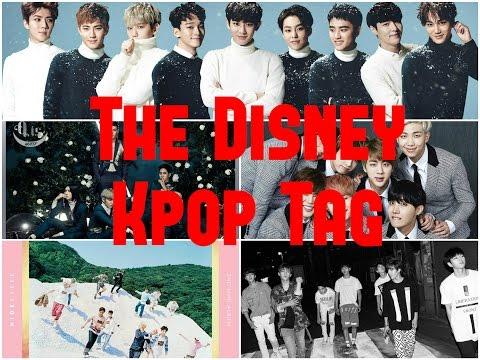 The Disney Kpop Tag