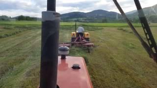Maszyny rolnicze deutz-fahr 2.30 i zgrabiarka pottinger kombi 411