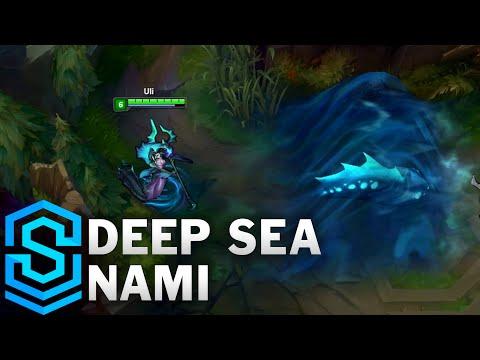 Deep Sea Nami Skin Spotlight - League of Legends