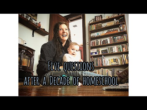 After a DECADE of Homeschooling | 5 Questions Answered | Front Porch Catholic Vlog