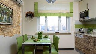 видео Дизайн кухни с балконом: интерьер штор для лоджии, объединенной с кухней, с балконной дверью