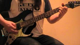 AC/DC Walk all over you guitar lesson