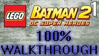 LEGO Batman 2 : DC Superheroes - 100% Walkthrough - Theatrical Pursuits