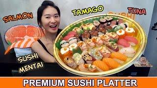 Sushi Platter (Eating Show - Mukbang) Peggie Eats S02E26