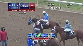 Ajax Downs October 26th, 2020 Race 9
