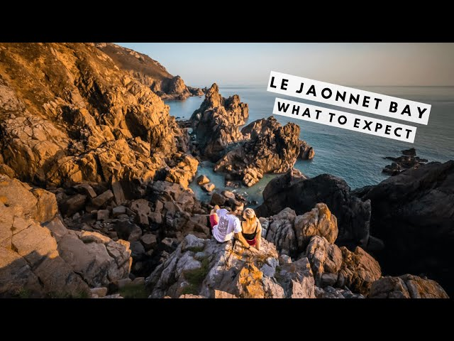 Sunrise Over Le Jaonnet Bay | GUERNSEY'S MOST BEAUTIFUL BEACH