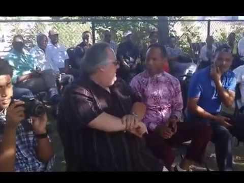 Oromo Canadian Community Of Waterloo Region with MP Bryan May, July 23,2016 Kitchener Ontario