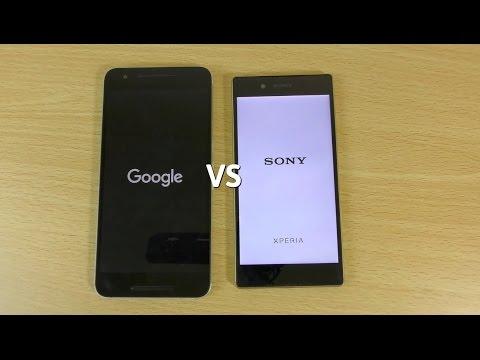 Nexus 6P VS Xperia Z5 - Speed Test
