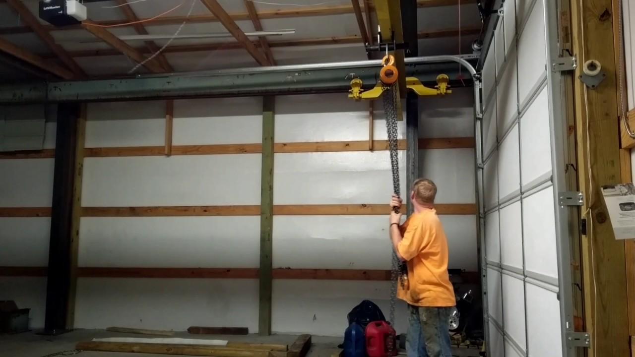 2 Ton Bridge Crane Complete Youtube