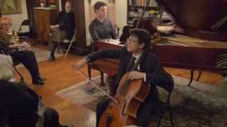Tambourin Chinois for Cello by Nathan Chan and Drew Petersen