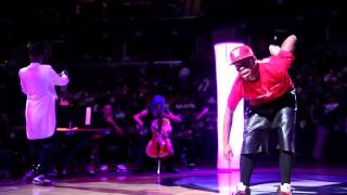 Drumma Boy, Lil Buck & MSO perform at Grizzlies
