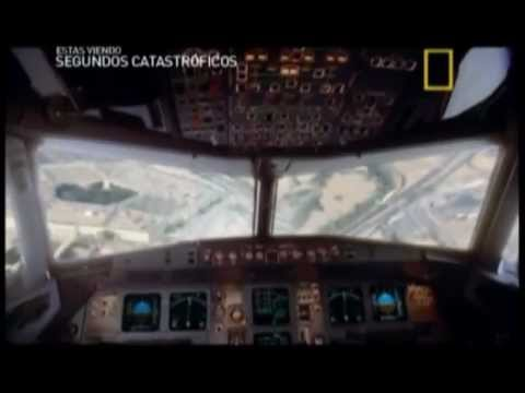 video catastrofes aereo: