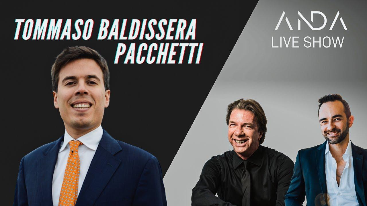 ANDA Live Show con ospite Tommaso Baldissera Pacchetti