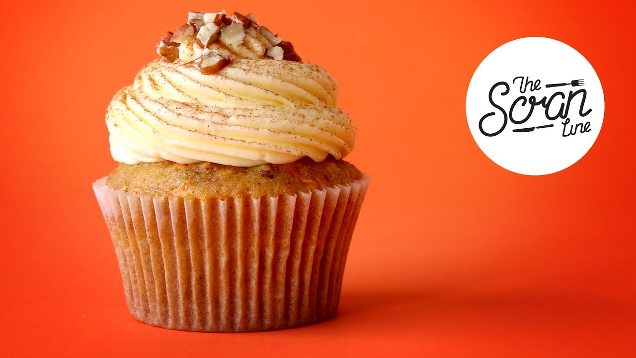 Carrot Cupcakes With Cream Cheese Frosting And A Movie In ...