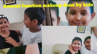 #lockdown #kidsfuntime #makeuptutorialforbeginners by kids l   l annual function makeup for boys